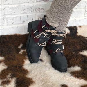 FREE PEOPLE Showdown Lace-Up Boot